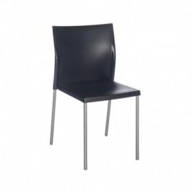 "Chaise ""Bikini"" noire - Hotelpros"