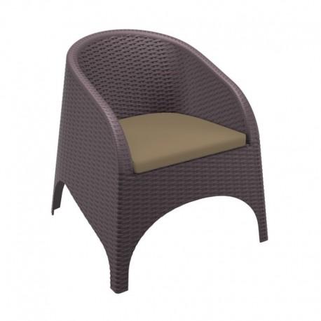 """Coussin pour fauteuil """"Aruba Rattan"""" - Hotelpros"""