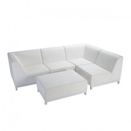 "Sofa ""Cloud"" blanc - Hotelpros"