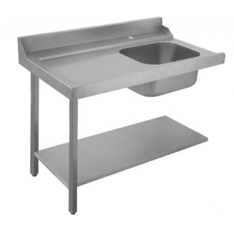Table de tri pour lave-vaisselle à capot - Face 1 - Hotelpros