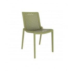 "Chaise ""Netkat"" Vert olive - Hotelpros"