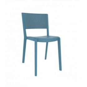 """Chaise """"Spot"""" Bleu rétro - Hotelpros"""