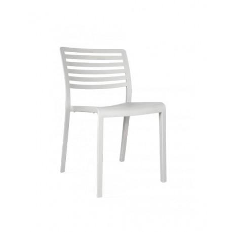 "Chaise ""Lama"" Blanc - Hotelpros"