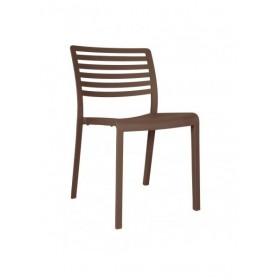 "Chaise ""Lama"" Chocolat - Hotelpros"