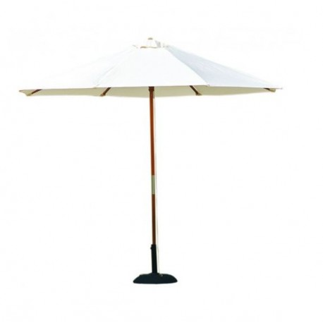 """Parasol rond """"M2"""" ivoire - Hotelpros"""