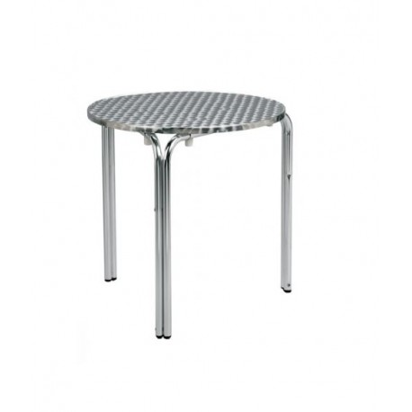 "Table ""Ola"" aluminium - Hotelpros"