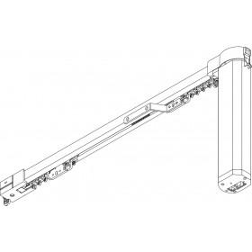 Tringle à rideaux électrique 5100 SILENT GLISS