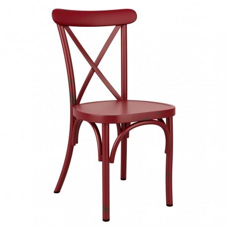 Chaise Café Rouge vintage - Hotelpros