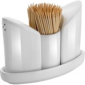 Ménagère porcelaine blanche - Hotelpros