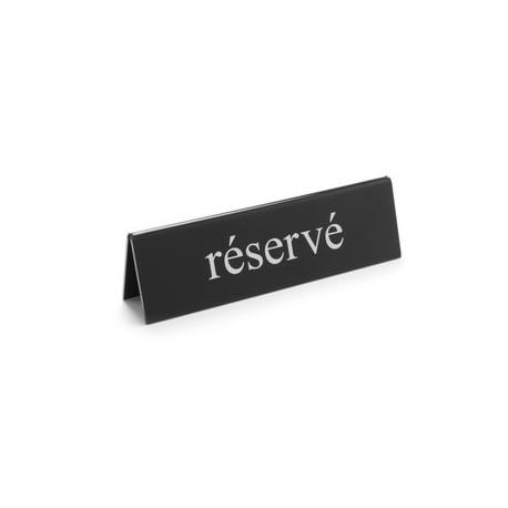"""Chevalet de table """"réservé"""" - Hotelpros"""