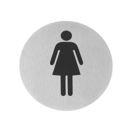 Pictogrammes à bande autocollante femme - Hotelpros
