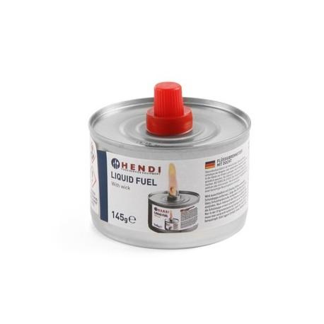 Combustible liquide avec mèche - Pâte 200gr / 6 heures / 24 par carton - Hotelpros