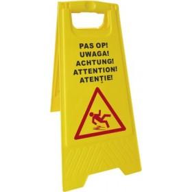 """Panneau d'avertissement """"Attention"""" - Hotelpros"""