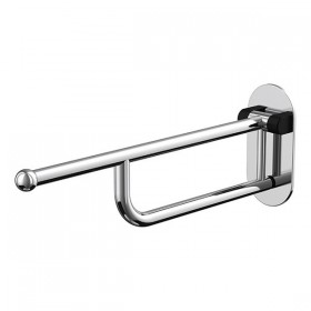 Barre de maintien longue escamotable Ø32mm - 70cm chrome - Hotelpros
