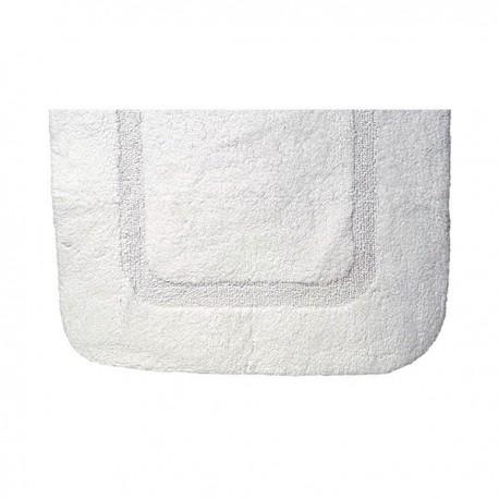 Tapis de bain blanc 60 x 90cm - Hotelpros