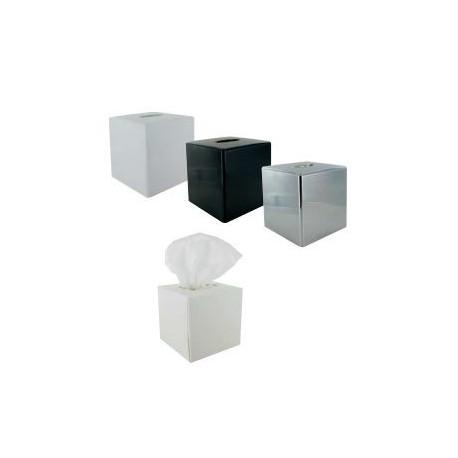 Lot de 30 boîtes carton cube à mouchoirs - Hotelpros