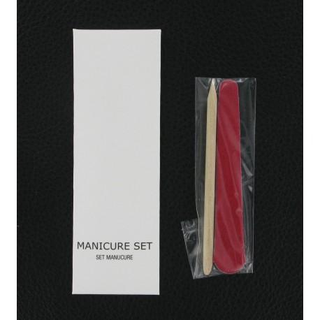 Set manucure White & Black - Hotelpros