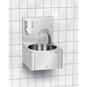 Lave-mains commande au genou - Hotelpros