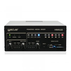 Amplificateur SD-USB-MP3 Ecler - Hotelpros