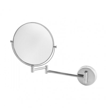 Miroir double face grossissant chrome - Hotelpros