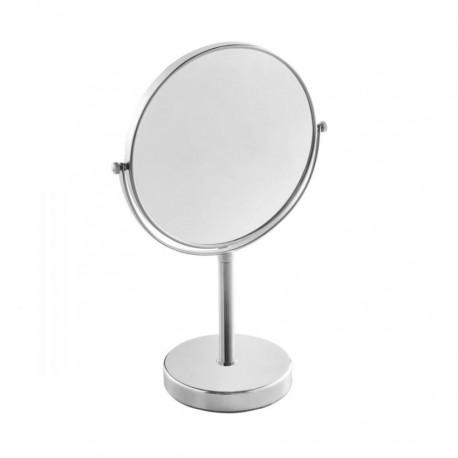 Miroir grossissant sur pied Fiesta chrome - Hotelpros