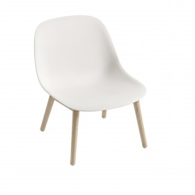 Chaises Fiber Lounge bois blanc - Hotelpros