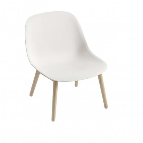Chaises Fiber Lounge bois blanc - Hotelpros
