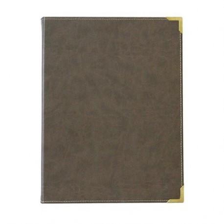 Grande carte aspect cuir - Hotelpros