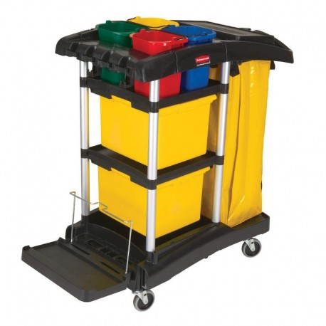 Chariot de ménage pour frange microfibre - Hotelpros