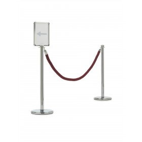 """Porte-affiche pour """"modèle L"""" Line 2000 - Hotelpros"""