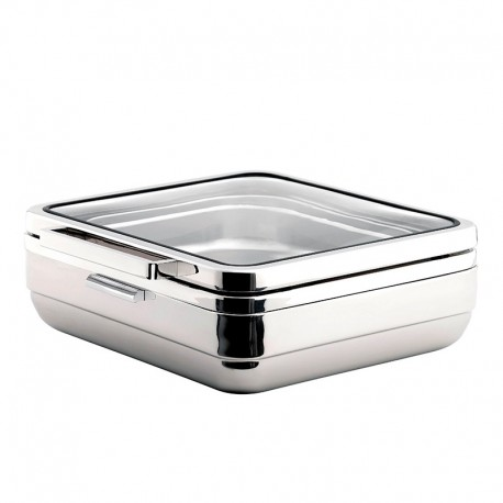 Bain marie carré à induction - Hotelpros