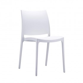 Chaise Spice blanc - Hotelpros