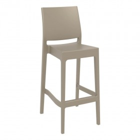 Tabouret de bar Spice taupe - Hotelpros