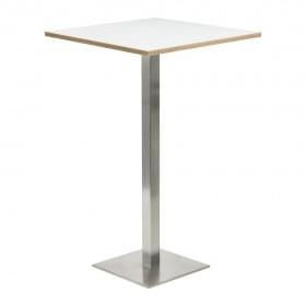 Table haute - Carrée 60x60cm Zuma - Hotelpros